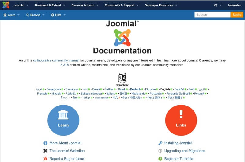 Documentation Joomla